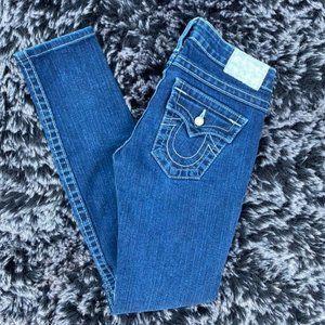 True Religion Pearl Skinny Jeans sz 26